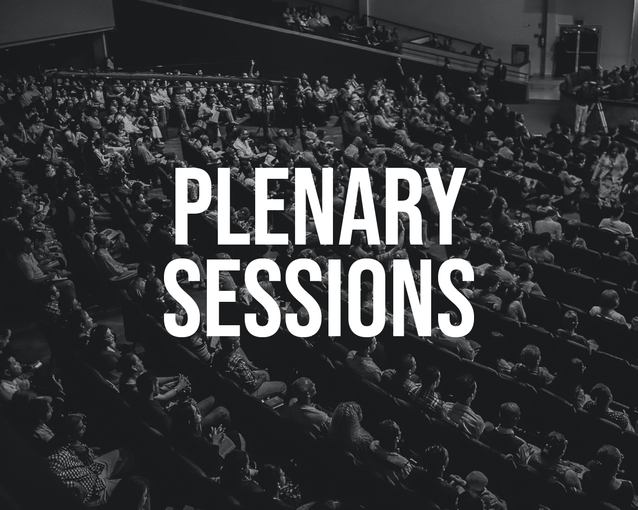 Plenary Sessions