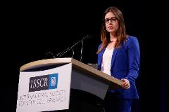 Young scientist presents her research at ISSCR 2017