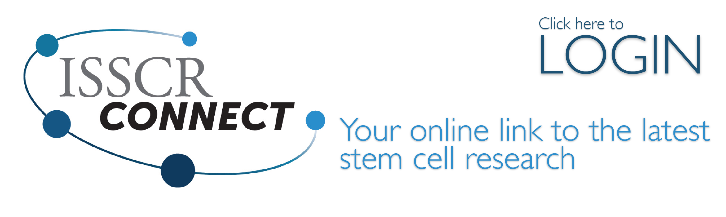 Login to ISSCR Connect