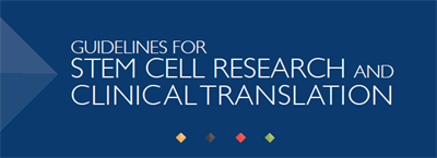 2016 Guidelines for Stem Cell Research and Clinical Translation Cover